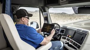 O futuro do transporte de cargas caminhões autônomos