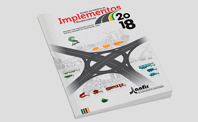Está disponível o Anuário de 2018 da Indústria de Implementos Rodoviários