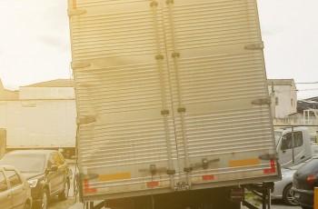 baú do caminhão